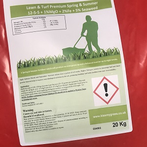 Premium Spring & Summer Lawn Fertiliser