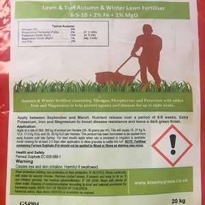 Autumn and Winter Lawn Fertiliser