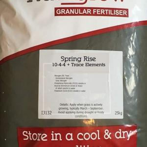 Spring Lawn Fertiliser 10.4.4 +